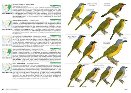 Sasol Birds of Southern Africa, 5th edition