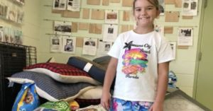 For Her Birthday, Young Girl Asks for Animal Shelter Donations Instead of Presents