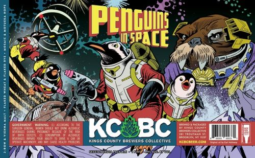 Kings County Brewing Collective: Penguins in Space