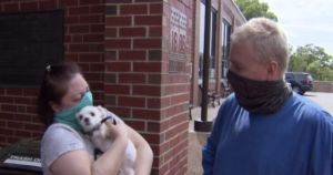 Dog Reunited With Family Only Hours After Car Was Stolen