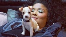 Lizzo Hung Out With Rescue Dogs On Tour And Her Crew Member Adopted A Tiny Puppy