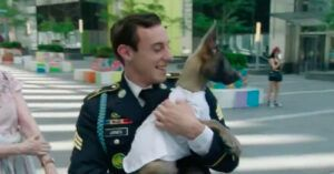 Army Veteran Surprised With Service Puppy At 9/11 Memorial In New York City