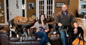This Couple Has Rescued Over 300 Senior Shelter Dogs in the Memory of Their Departed Pup