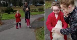 Mom Surprises Daughters By Secretly Rescuing The Dog They Fell In Love With